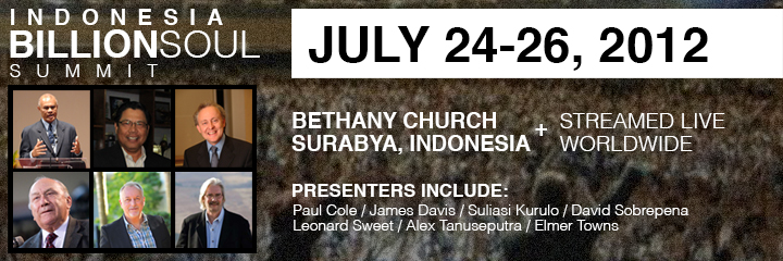 Indonesia Billion Soul Summit Page Header